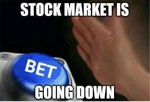 How to Bet on the Stock Market Going Down