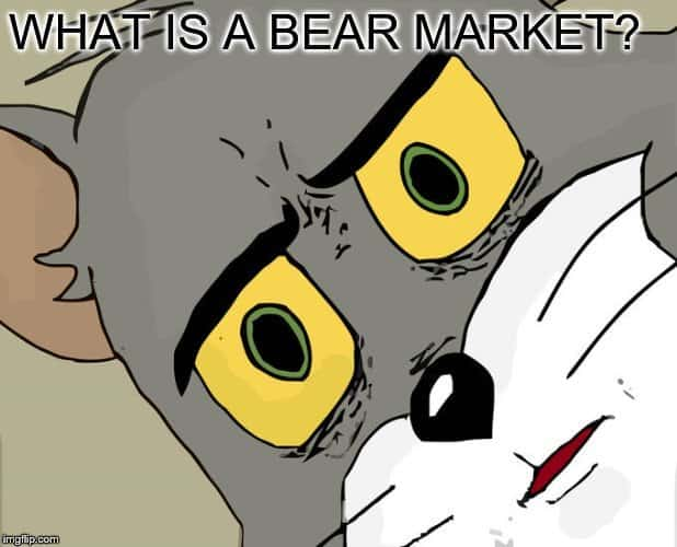 why is it called a bear market