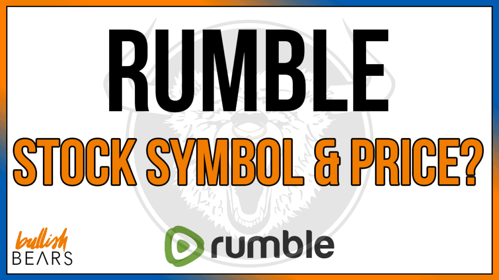 Rumble Stock Price